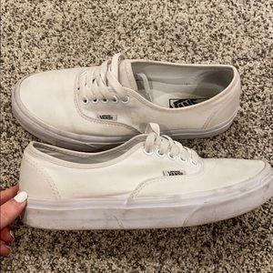 white lace up vans